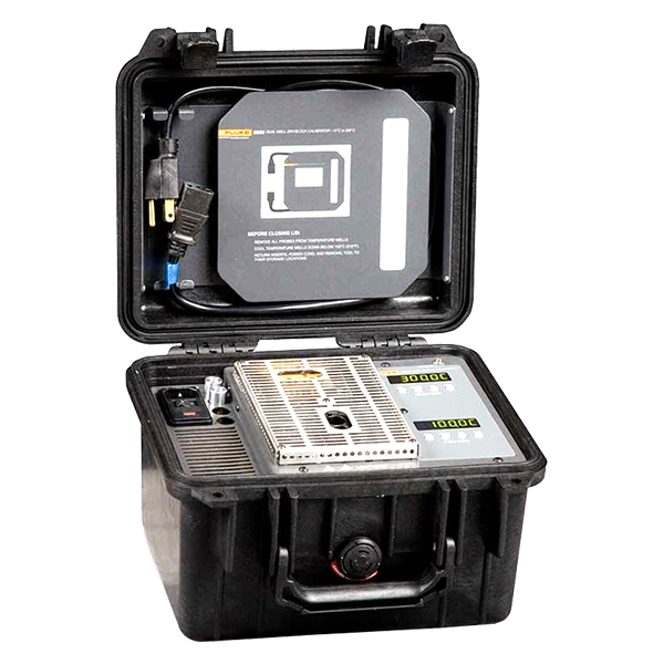 Fluke Calibration 9009 Dual-Well Dry-Well