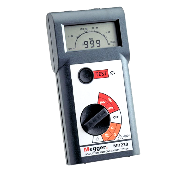 POCKET SIZED INSULATION AND CONTINUITY TESTERS MIT200 Series