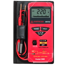 Amprobe DM78C Credit Card Size Multimeter