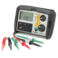 COMBINED LOOP AND RCD TESTERS LRCD210 and LRCD220