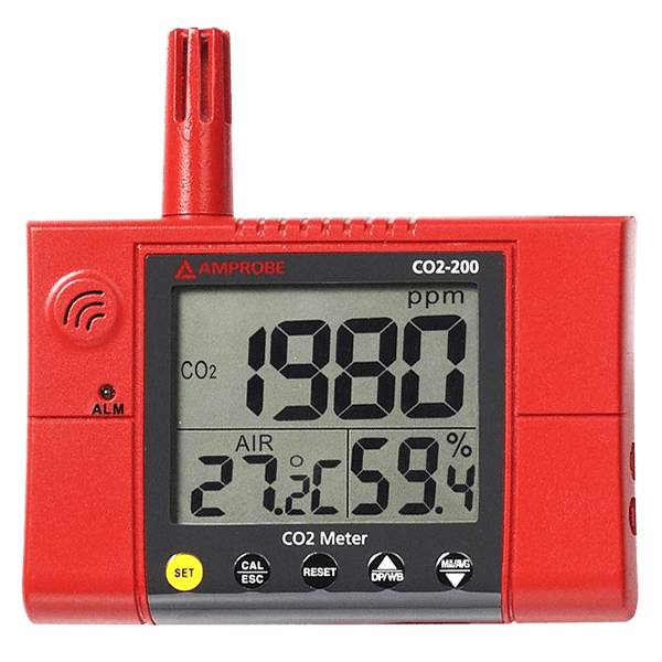 Amprobe CO2 200 Wall-Mounted CO2 Meter