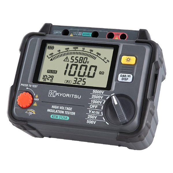 kyoritsu 3125A High Voltage Insulation Testers