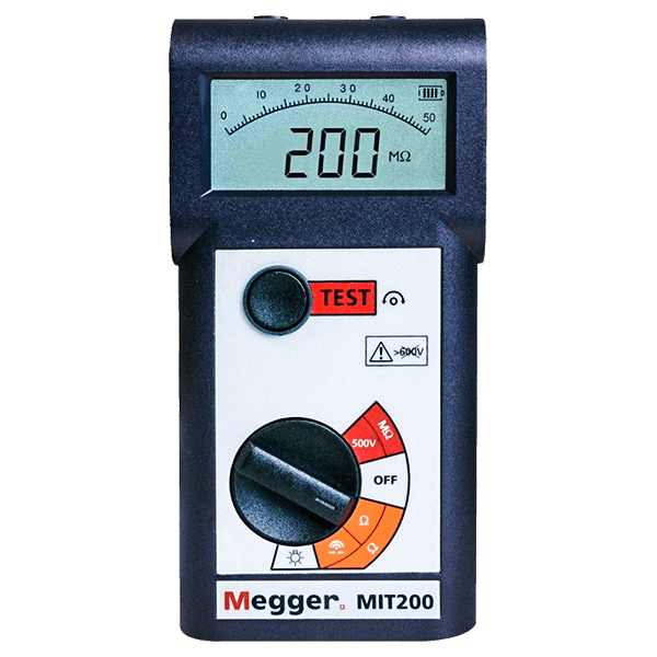 MIT200 Series Pocket Sized Insulation And Continuity Testers
