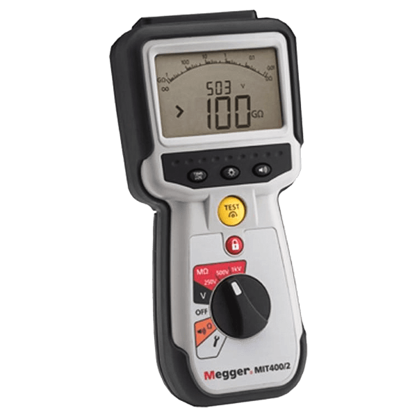 Megger MIT400 Series Industrial Insulation Testers