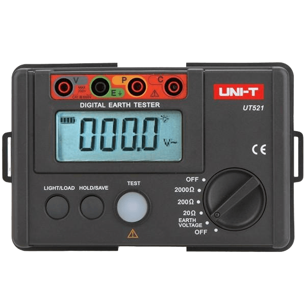 UNI-T UT-521 Digital Earth Tester Earth Ground Insulation Resistance Meter