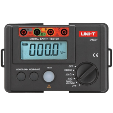 UNI-T UT-521 Digital Earth Tester Earth Ground Insulation Resistance Meter