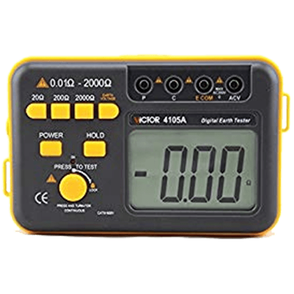 Victor-vc4105a Digital earth tester model