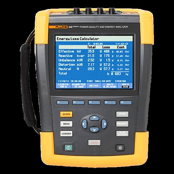 Fluke 435-II Power Quality and Energy Analyzers