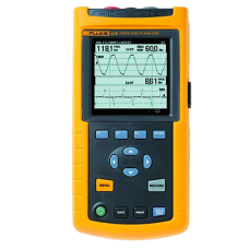 Fluke 43B Single Phase Power Quality Analyzer