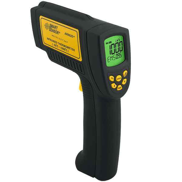 Smart sensor AR862D Plus infrared thermometer