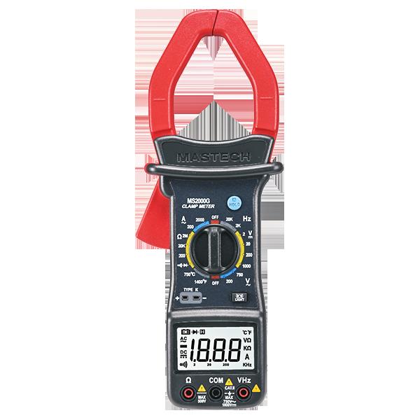 Mastech MS2000G Digital AC Clamp Meter