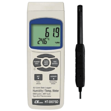 Lutron HT 3007 SD Humidity Meter