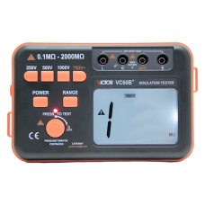 VICTOR VC60B+ Digital Insulation Resistance Tester