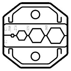 Proskit CP 336DC1  Die Set
