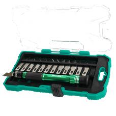 Proskit PD 398 14pcs Aluminum handle knife kit