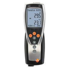 Testo 635 1 temperature and humidity measuring instrument
