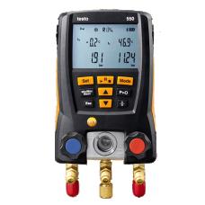 Testo 550 digital manifold kit with Bluetooth