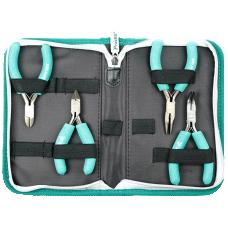 Proskit PK ST902 4Pc Ergonomic ESD Safe PlierAnd Cutter Kit