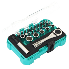 Proskit SD 2318M 27PCS Drive Socket Screwdriver Set