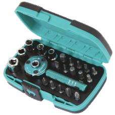 Proskit SD 2319M 22PCS Palm ratchet wrench Bit Socket Set