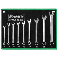 Proskit HW 6509B 9Pcs Combination Wrench