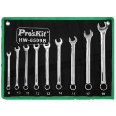Proskit HW 6509B 9Pcs Combination Wrench