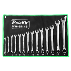 Proskit HW 6514B 14Pcs Combination Wrench