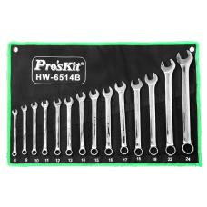 Proskit HW 6514B 14Pcs Combination Wrench