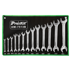 Proskit HW 7513B 13Pcs Double Open End Wrench