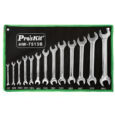 Proskit HW 7513B 13Pcs Double Open End Wrench